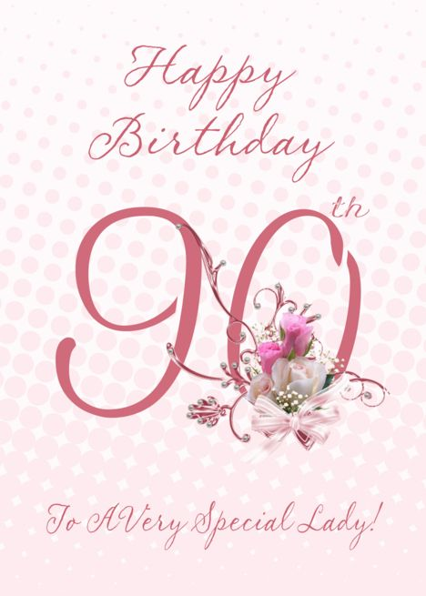 90th Birthday Card Pink Roses To A Very Special Lady Card Ad Sponsored Card Pink Birthday 90th Birthday Cards 80th Birthday Cards Birthday Cards