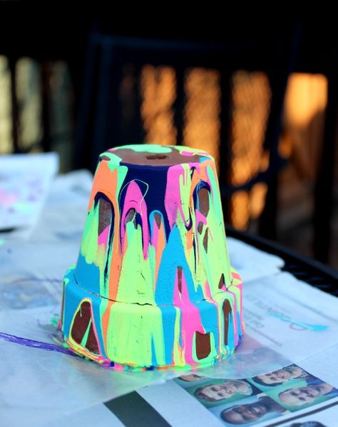Garden Pot Craft for Kids