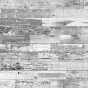 Timeline Wood 11 32 In X 5 5 In X 47 5 In Distressed White Wood Panels 6 Pack 00955 The Hom In 2020 Interior Accent Wall Wood Panel Walls Decorative Wall Panels
