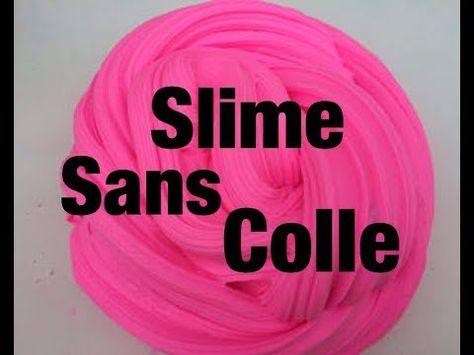 Faire Du Slime Sans Colle C 39 Est Possible Youtube Slime Sans Colle Comment Faire Du Slime Sans Colle Slime