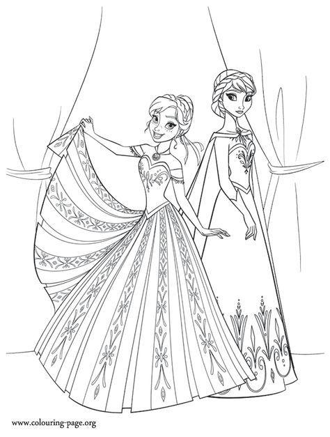The Two Sisters Anna And Elsa Don T Always Get Along Enjoy This Another Beautiful Disney Frozen Movi Malvorlagen Eiskonigin Malvorlage Prinzessin Ausmalbilder