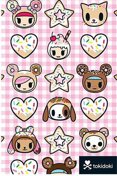 Tokidoki Donutella Journal Thoughts Catalog Lists Tokidoki Characters Tokidoki Cute Pastel Wallpaper