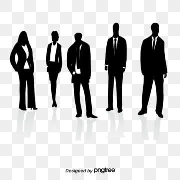 Business People Silhouettes Png And Psd Silhouette People Shadow Images People Png