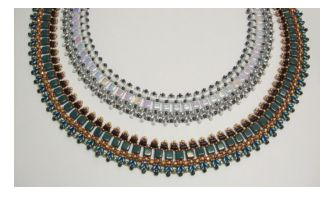 """Free """"Pizzo Necklace"""" Beading Pattern from Laura's Beads & Jewelry Boutique featured in recent Bead-Patterns.com Newsletter!"""