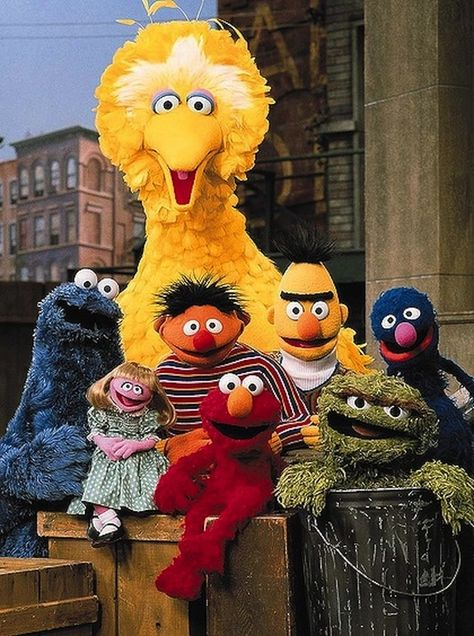 sesame street The best ever! No Elmo or Abby's Flying Fairy School. Not like present day formulaic Sesame Street. It is sad to watch present day Sesame Street, no originality. Jim Henson, Old Tv Shows, Kids Shows, Kids Tv, 90s Kids, Mejores Series Tv, Fraggle Rock, Photo Vintage, Vintage Tv