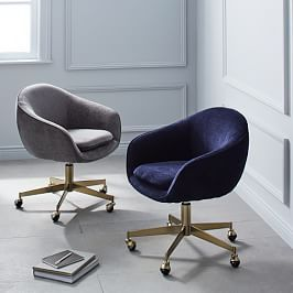 Helvetica Upholstered Office Chair In 2019 Swivel