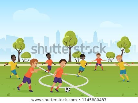 Soccer Cartoon Soccer Cartoon Fussball Cartoon Dessin Anime De Football Dibujos Animados De Futb In 2020 With Images Kids Playing Football Soccer Games For Kids Kids Soccer