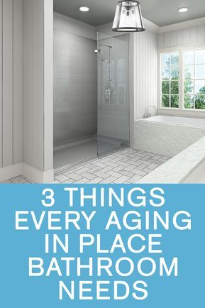 Aging In Place Bathroom Design Aging In Place Bathroom Roll In Showers Aging In Plac Accessible Bathroom Accessible Bathroom Design Accessible Bathroom Remodel