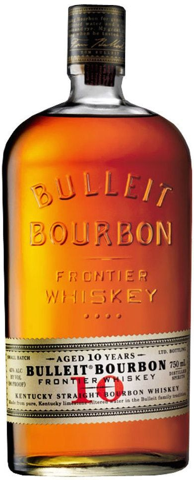 Bulleit Frontier Bourbon Whiskey 10 Year Old Bulleit Bourbon Whiskey Kentucky Straight Bourbon Whiskey