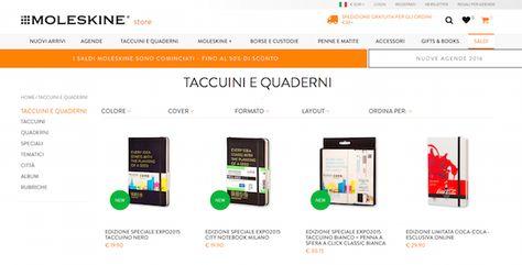 Quaderni e diari per la scuola on-line - the Shopping Corner