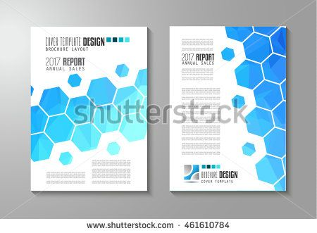 Brochure Template Flyer Design And Depliant Cover For Business