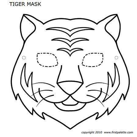 Pin Von Iris Weygandt Auf Ausdrucken Tiermasken Masken Basteln Masken Kinder