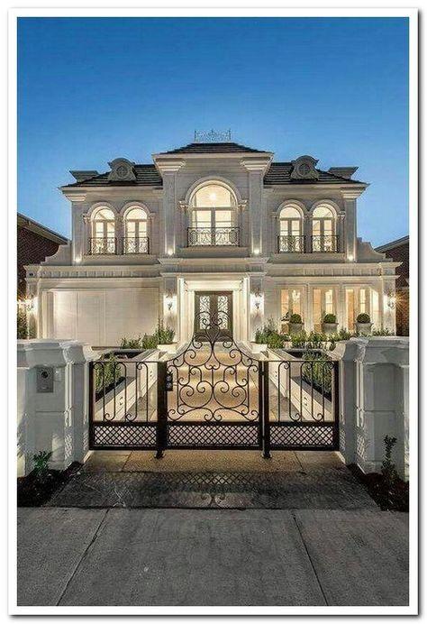 42 Stunning Modern Dream House Exterior Design Ideas #dreamhouseexterior #moderndreamhouse #exteriordesignideas ⋆ aegisfilmsales.com