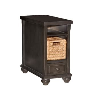 Powell Home Fashions D1038a16 Charcoal Grey Hudson 12 Inch Wide Wood End Table With Usb Plug In 2020 Wood End Tables End Tables House Styles
