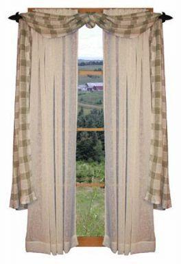 Best Living Room Curtains Rustic Window Treatments Ideas Best