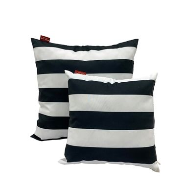 Mojo 60cm Striped Outdoor Cushion Cover Outdoor Cushion Covers