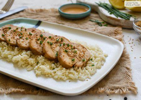 Pechuga De Pollo Con Soja Miel Y Limón Receta De Cocina Fácil Y Deliciosa Como Cocinar Pechuga De Pollo Pollo Gourmet