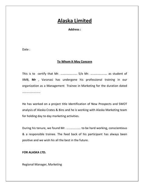 Format for certification letter dcbuscharter format for certification letter yadclub Images