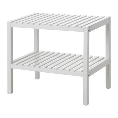 Ikea Panchine Da Giardino.Muskan Panca Bianco 58x38 Cm Fai Da Te Ikea Ikea E Sgabelli
