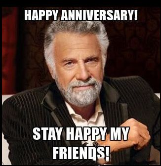Latest Happy Anniversary Memes Anniversary Meme Myers Briggs Type Plexus Products