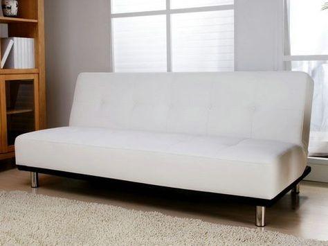 Superb White Leather Sofa Bed Leather Futon White Leather Sofa Creativecarmelina Interior Chair Design Creativecarmelinacom