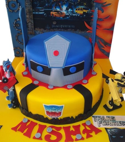 Best Images About Transformers On Pinterest Childrens - 5th birthday cake boy