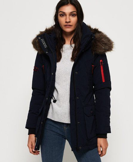 Superdry Premium Down Alps Coat | Outfits i 2019