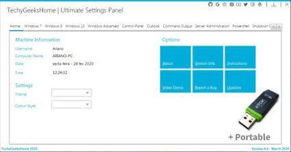 Ultimate Settings Panel 6 6 Portable Em Baixar Software