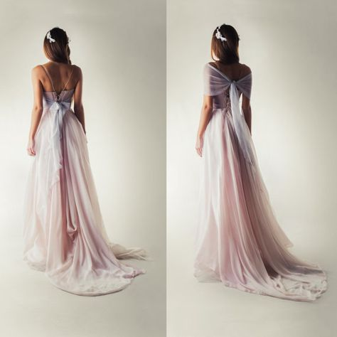 9c0142131b8 Wedding dress Lavender Wedding dress Fairy wedding dress
