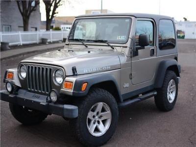 Ebay 2003 Jeep Wrangler Rubicon 2003 Jeep Wrangler For Sale