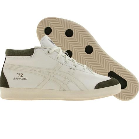separation shoes 441e2 33873 Asics Onitsuka Tiger Sunotore 72 (off white   off white   green) Shoes  HL8K4-9999   PickYourShoes.com