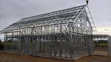 Pasywny dom stalowy może być nie tylko wytrzymały, tani i szybki w budowie, ale przede wszystkim energooszczędny lub pasywny.