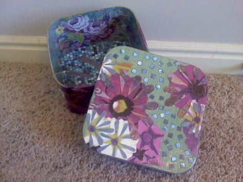 Decoupage Gift Boxes
