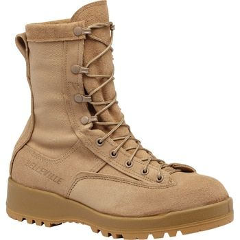 Belleville C390 8 Hot Weather Combat Coyote Boots Safety Toe Boots Tactical Boots Military Boots