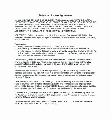 Product License Agreement Template Elegant Licensing Agreement Sample Best What Is A Licensing Address Book Template Free Business Card Templates Templates