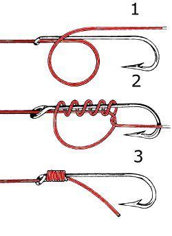 видео о рыбалке узлы на крючках