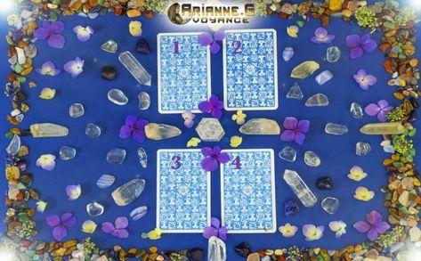 Tirage Boussole de l'âme Tarot 4 Cartes 4 cartes tarot boussole de l ame2