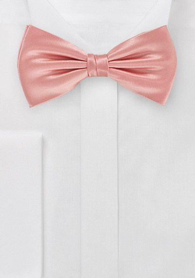 Schleife Einfarbig Rose Italienische Seide Rosa Fliege Fliege Hochzeit Seide