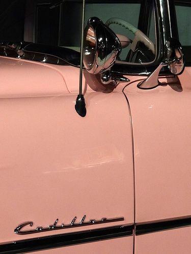 Element of Elvis's Pink Cadillac – Car Museum – Graceland (Elvis Presley Mansion) – Memphis – Tennessee – USA – 01 Cadillac Cts Coupe, Pink Cadillac, Cadillac Eldorado, Cadillac Escalade, Rosa Cadillac, 1959 Cadillac, Corvette Cabrio, Chevrolet Corvette, Cadillac Fleetwood