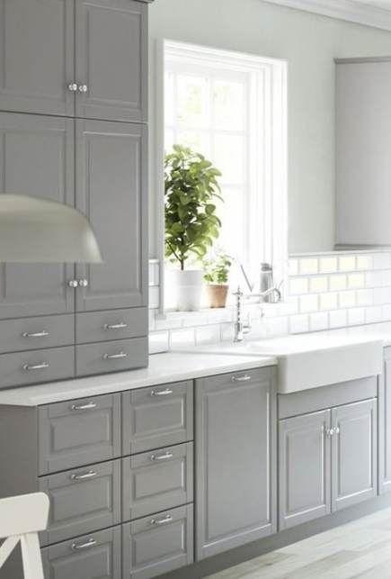 Kitchen Grey Bodbyn Ikea 35 Ideas Kitchen Inreda Kok