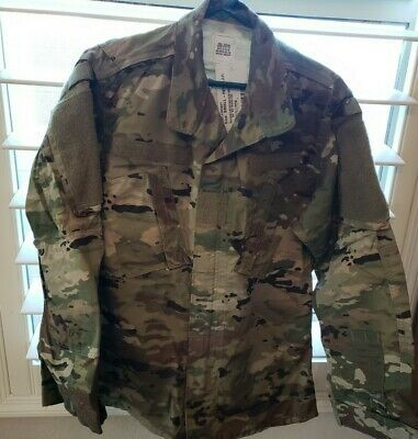 Us Army Ocp Coat Jacket Shirt Insect Resistant Size Small Reg New Fashion Collectibles Militaria Currentm In 2020 Army Combat Uniform Shirt Jacket Combat Uniforms