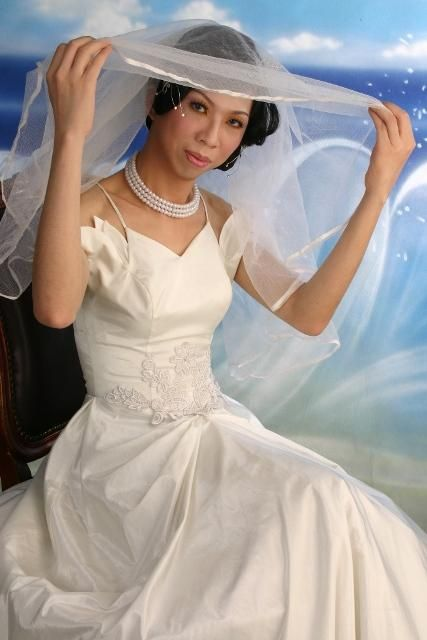 Trans Wedding Dress