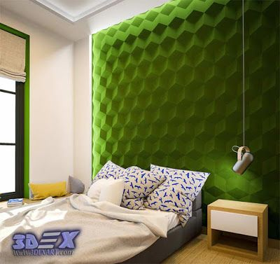 Decorative 3d Gypsum Wall Panels Plaster Wall Paneling Design Ideas Green Wall For Bedroom The Best Solution For Wall Wall Panels Wall Paneling Gypsum Wall