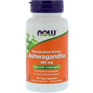 Now Foods アシュワガンダ 標準化エキス 450mg ベジカプセル90粒 Now Foods Immune System Support Herbalism