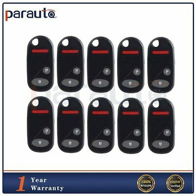 Advertisement Ebay 10 Replacement Keyless Entry Remote Key Fob