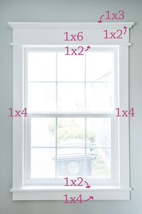 DIY Farmhouse Trim - easy way to add character! - InGioia house window trim DIY Farmhouse Trim - easy way to add character! Farmhouse Interior Doors, Farmhouse Trim, Interior Windows, Interior Trim, Farmhouse Decor, Farmhouse Windows, Modern Farmhouse, Farmhouse Style, Diy Interior Doors