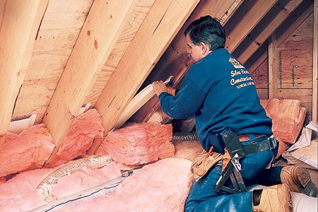 Laying New Insulation On Top Of Old Attic Renovation Attic House Attic Remodel