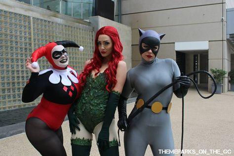 eos The Gotham City Sirens! Harley...