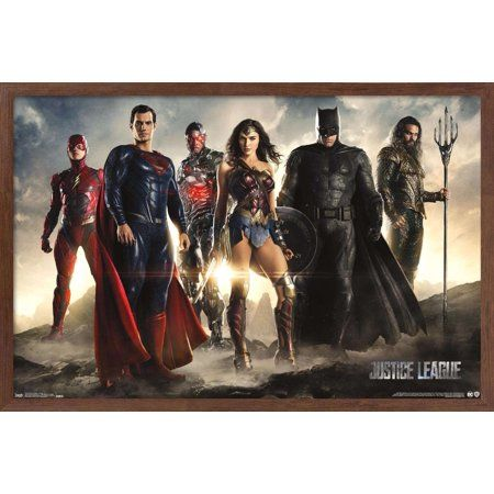 Dc Comics Movie - Justice League - Group Poster Size: 14.725 inch x 22.375 inch
