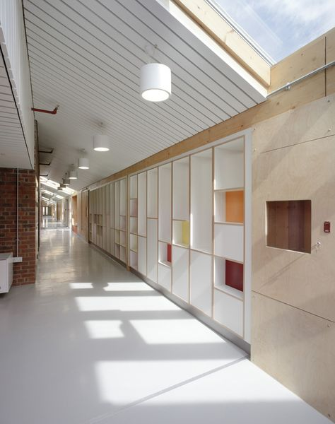 Sandal Magna School   Sarah Wigglesworth Architects   Archinect